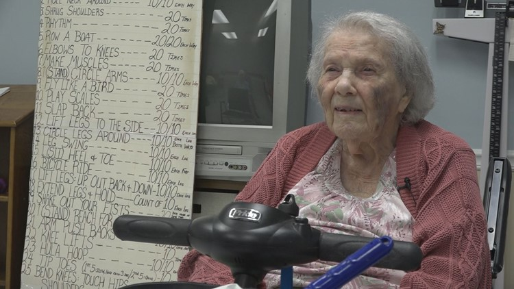 This fitness instructor is turning 105