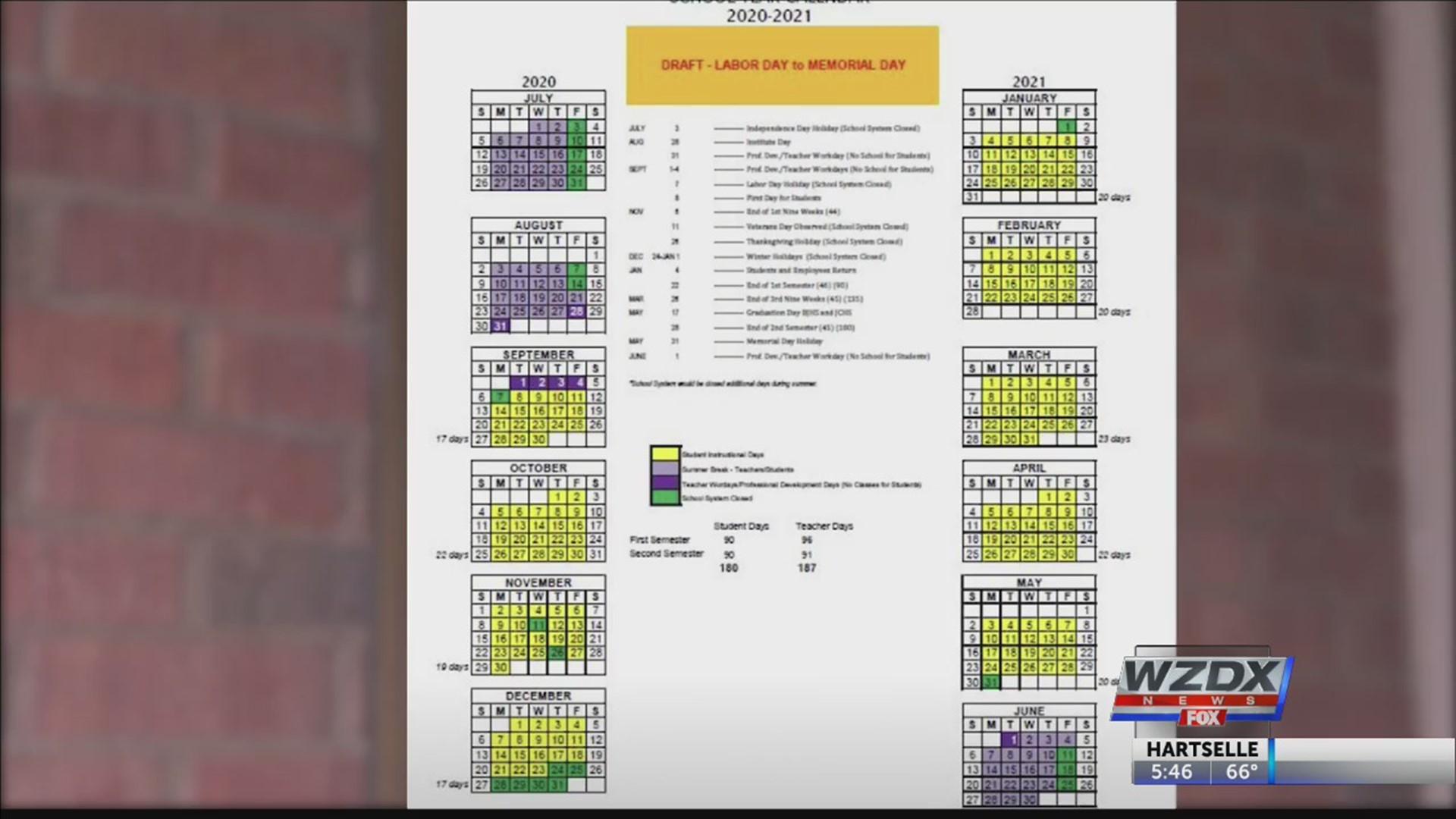 Arkansas Public School Calendar 2021-2022 Proposed school calendar prompts Huntsville City Schools to call