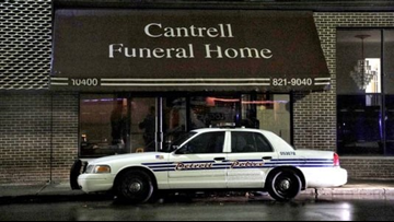 Police: 11 infant bodies found in ceiling of former Detroit funeral home