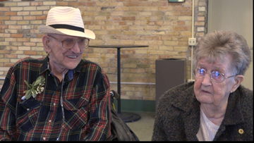 Michigan hospice patient gets one more date with his high school sweetheart of 64 years